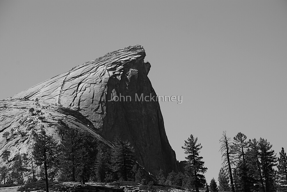 Half Dome Yosemite by John Mckinney