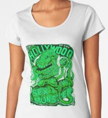 Attack of the Hollywood Monster Women's Premium T-Shirt