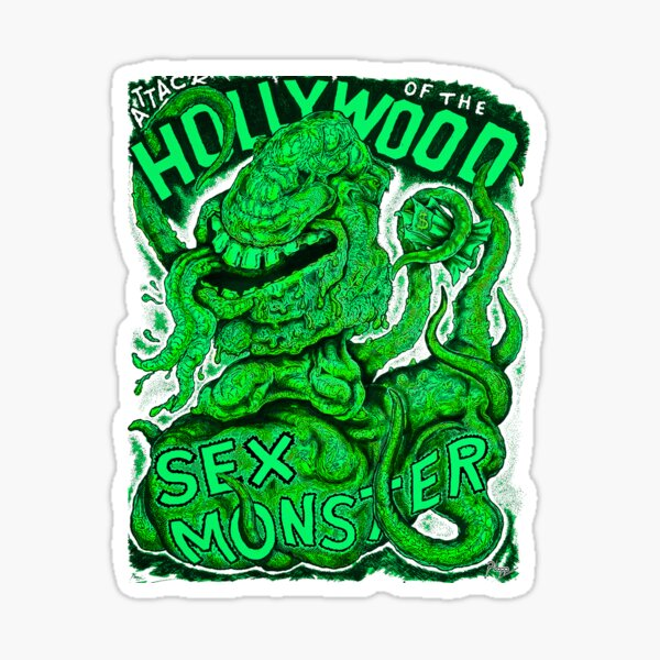 Attack of the Hollywood Monster Sticker