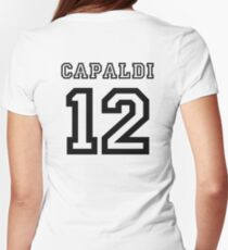 Capaldi 12 Jersey Womens Fitted T-Shirt