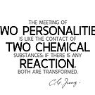 two personalities transformed - carl jung by razvandrc