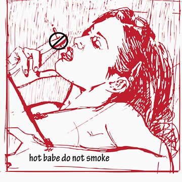 hot babe don't smoke by diavega