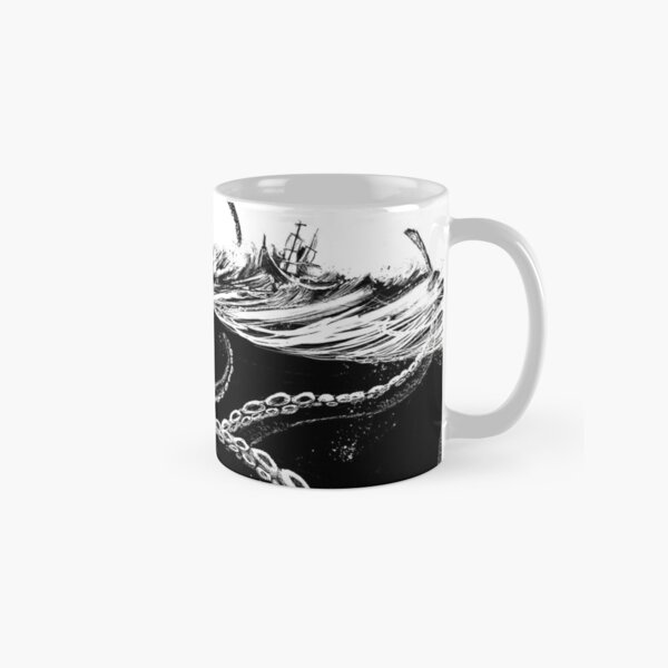 Kraken Rules the Sea Classic Mug