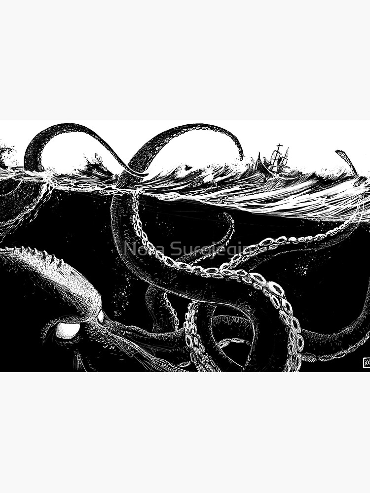 Kraken Rules the Sea by hazytale