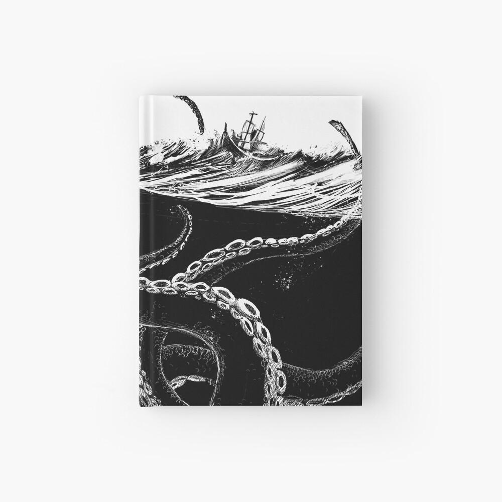 Kraken Rules the Sea Hardcover Journal