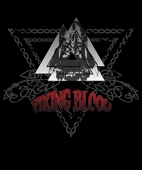 Viking Blood Posters By Sin22er Redbubble