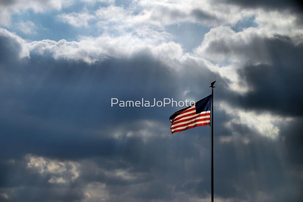 One Nation Under God by PamelaJoPhoto