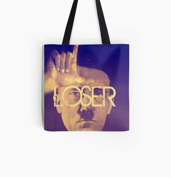 LOSER All Over Print Tote Bag