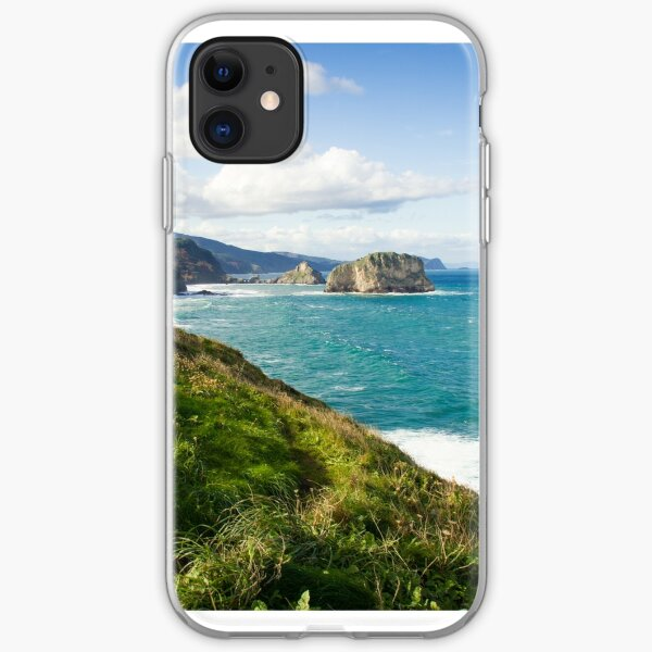 Basque Country coast landscape iPhone Soft Case
