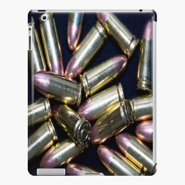 Cluster of 9mm Ammo iPad Snap Case