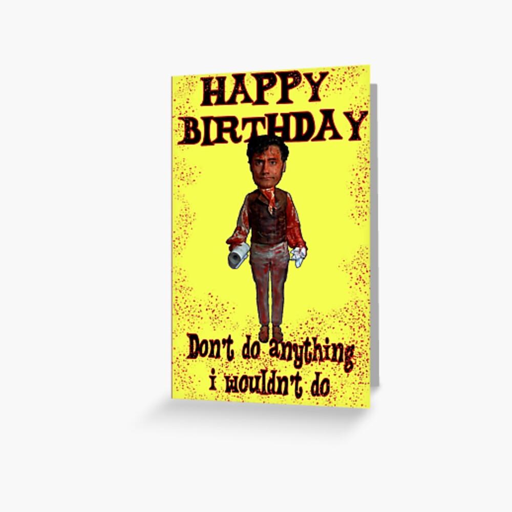 Feliz cumpleaños sombras vampiro Tarjetas de felicitación