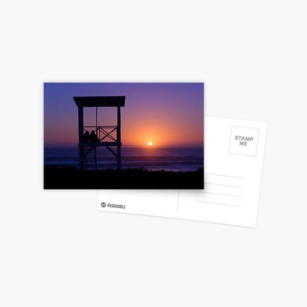 Sunset love Postcard