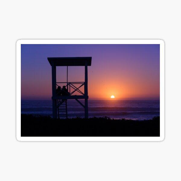 Sunset love Sticker