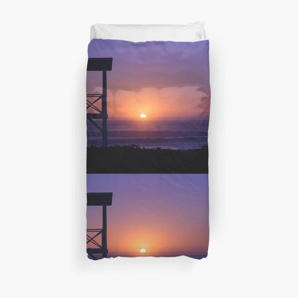 Sunset love Duvet Cover