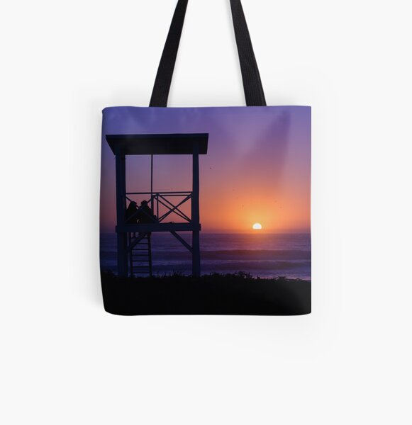 Sunset love All Over Print Tote Bag