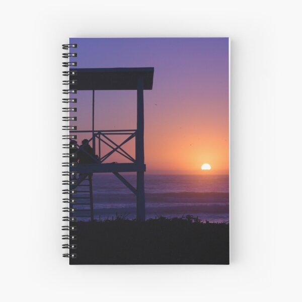 Sunset love Spiral Notebook