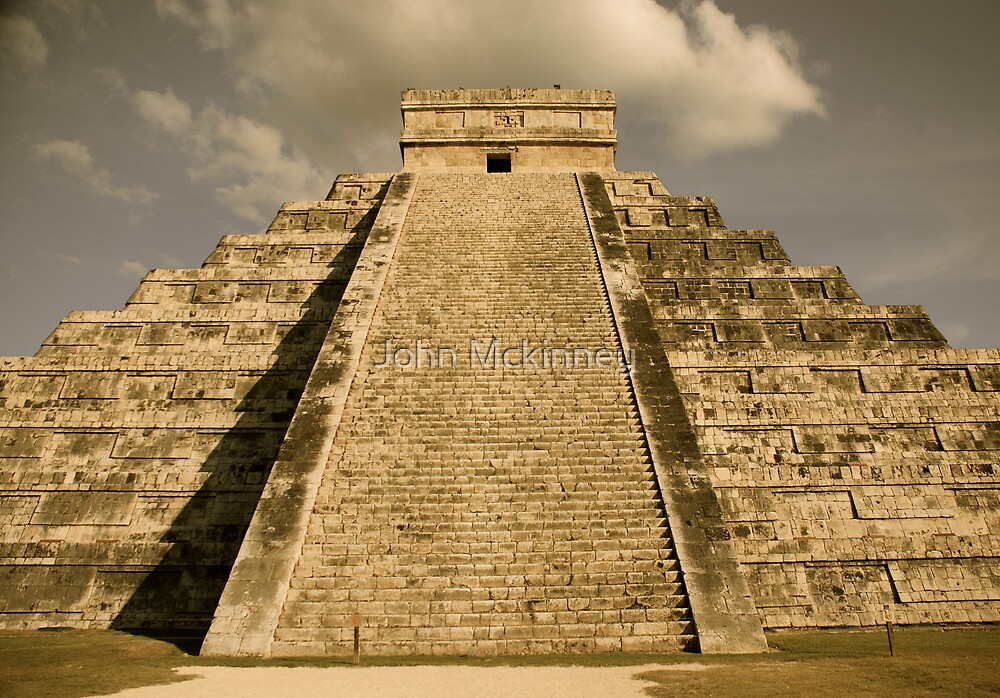 Chichen - Itza Cancun by John Mckinney