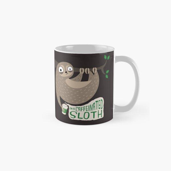 Caffeinated Sloth Classic Mug