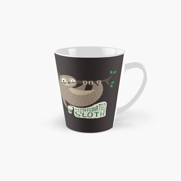Caffeinated Sloth Tall Mug