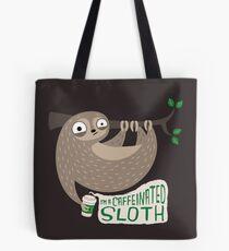 Caffeinated Sloth Tote Bag