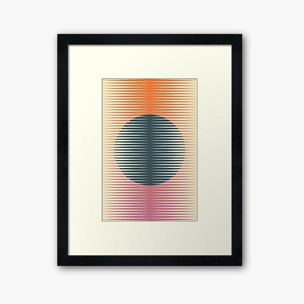 Papercut 8 Framed Art Print