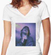 Joji Purple Haze Women's Fitted V-Neck T-Shirt