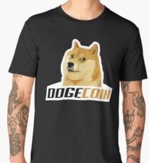 Dogecoin Men's Premium T-Shirt