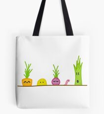 Colorful Veggie Garden Tote Bag