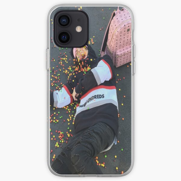 Lil Xan Skittles Coque souple iPhone