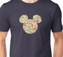 Floral Mouse Ears Unisex T-Shirt