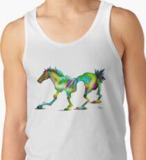 Wonky Horse, pop art. Tank Top