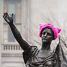 Pink Pussy Hat, Forward, Madison, Wiscosnin by Steven Ralser