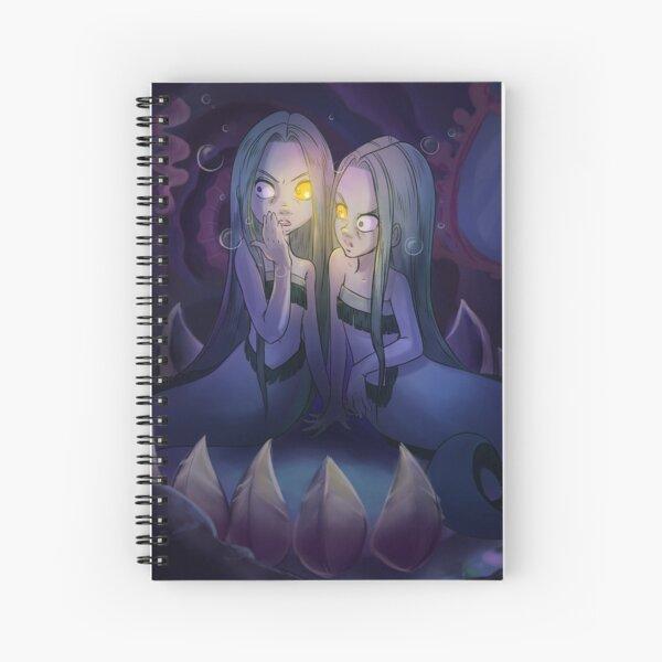 Mermaid Floatsam and Jetsam Spiral Notebook
