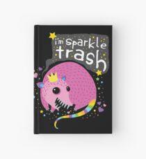 Sparkle Trash Hardcover Journal