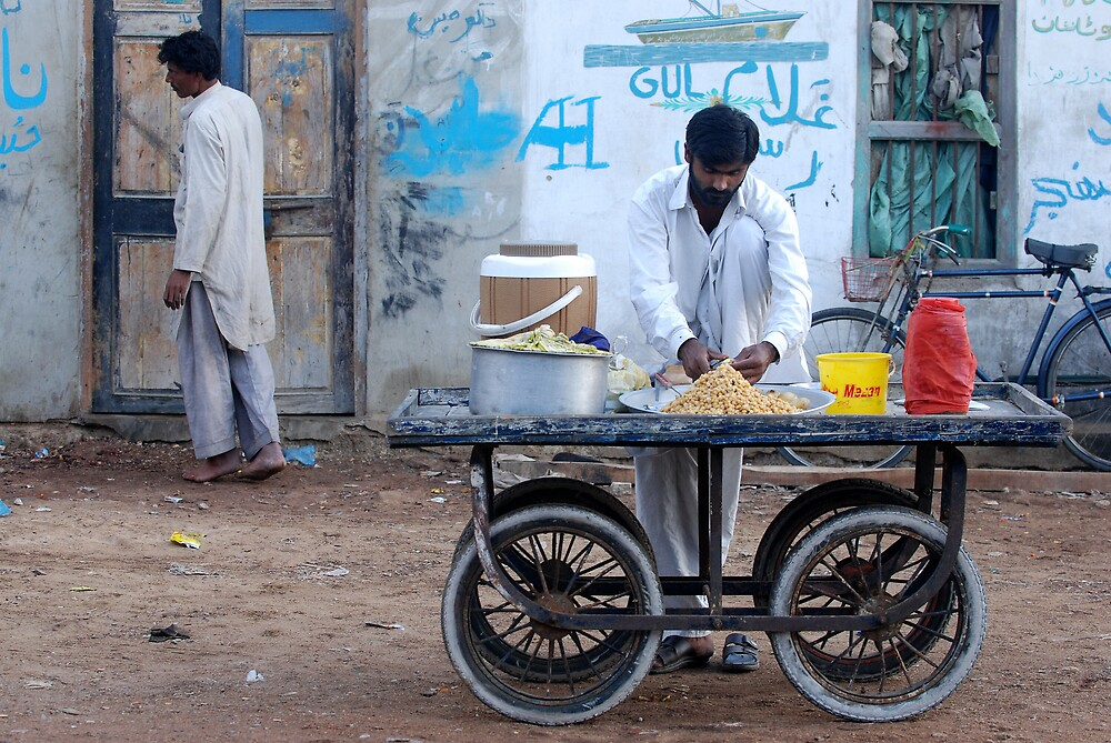 The Chaat Wala by Emoto