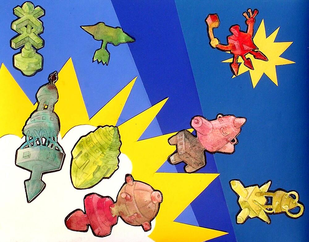 Big Bang by Ginapina