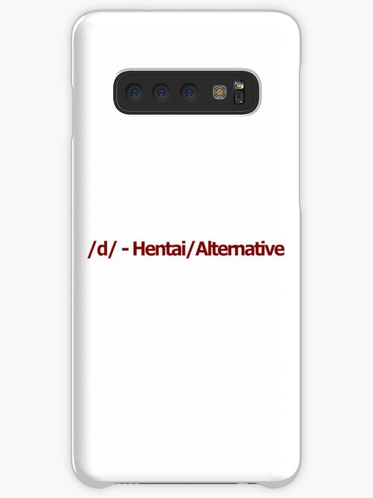 '/d/ - Hentai/Alternative 4chan Logo' Case/Skin for Samsung Galaxy by  FlandresBowler