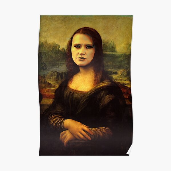 Kate McKinnon Mona Lisa Poster