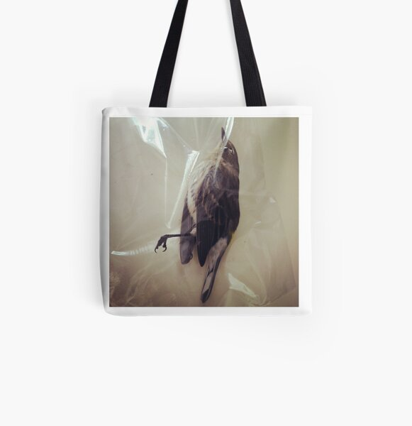 Yellow Rumped Warbler All Over Print Tote Bag