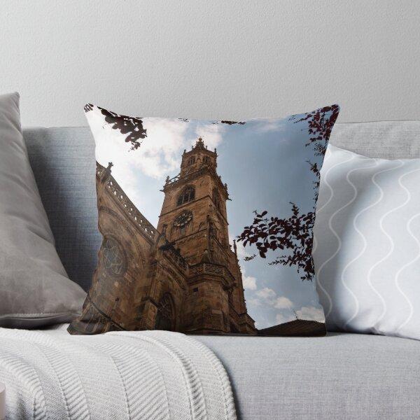 Bolzano Duomo Throw Pillow