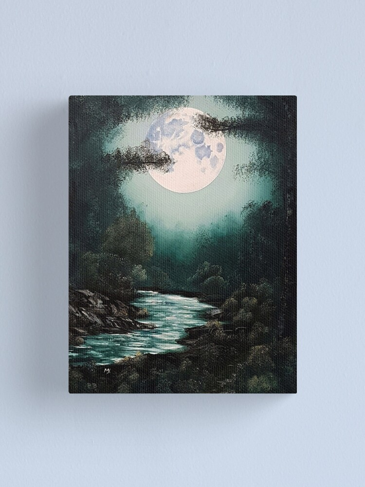 Alternate view of Deep Within the Breath of Serenity Canvas Print