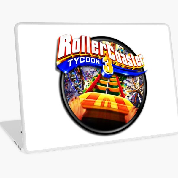 Dantdm Roblox Games Roller Coaster Tycoon Game Laptop Skins Redbubble