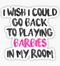 P! NK - Barbies Sticker