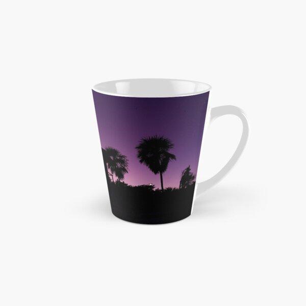 Baywatch tower silhouette sunset Tall Mug