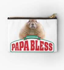 Papa Bless Groundhogs Studio Pouch