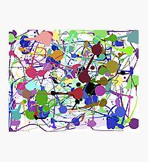 Jackson Pollock Impression photo