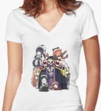 Overlord - Pleiades Fitted V-Neck T-Shirt