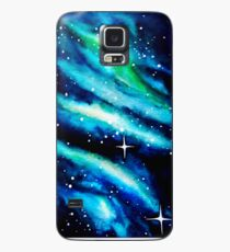 Blue Galaxy Watercolor Case/Skin for Samsung Galaxy