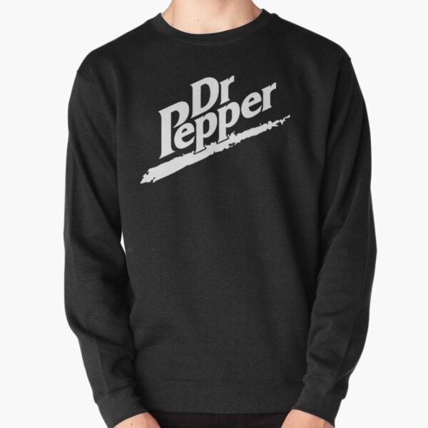Dr Pepper 90s Maroon Background Pullover Sweatshirt
