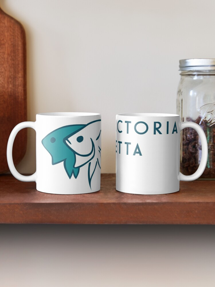 Alternate view of Victoria Betta Logo Mug